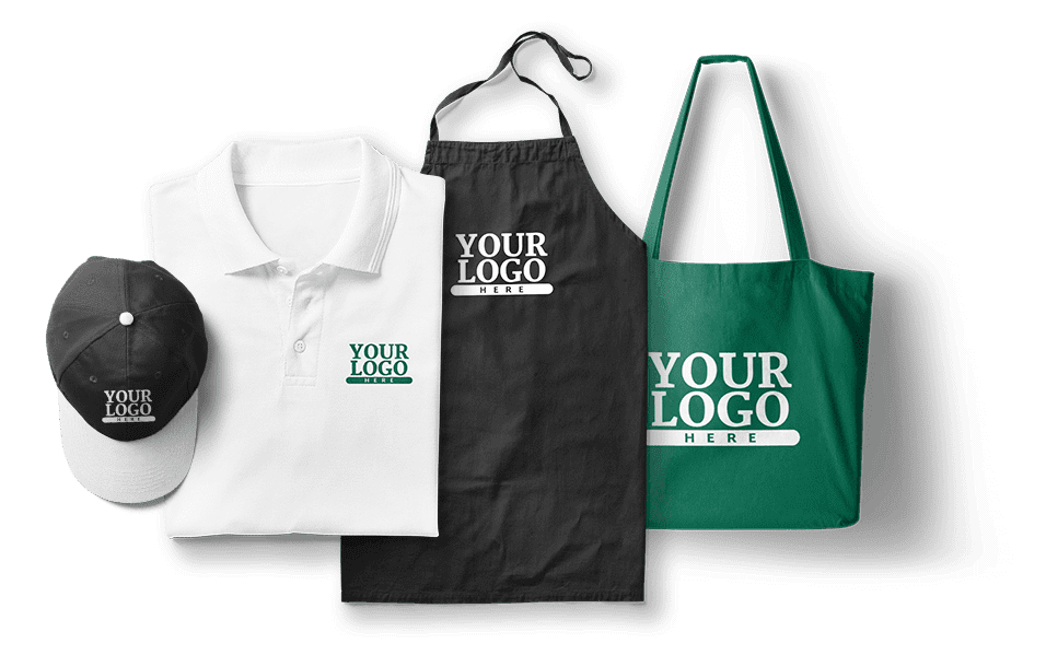 In thêu logo của bạn trên hàng trăm sản phẩm